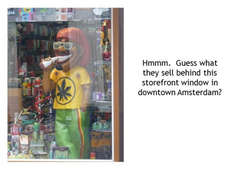 Amsterdam Mary Jane Window Display