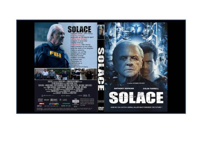 Solace (A movie review on DVD)