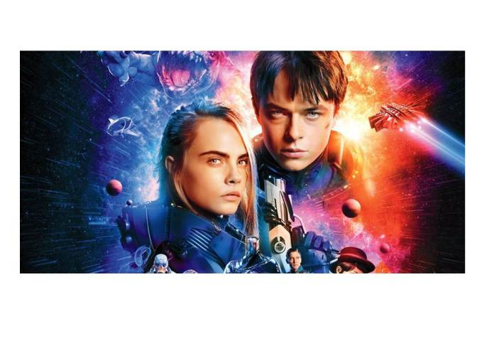 Valerian and the City of a Thousand Planets … Don't Bother!  (A movie review)