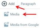 Wordpress Stuff Format Icons - Add Media