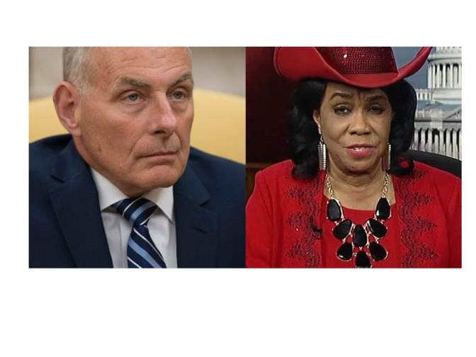022 – Sorry Gen. Kelly.  You just voided your free pass.  (An editorial)