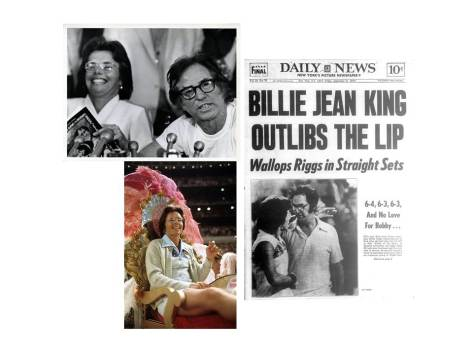 Battle of the Sexes - Billie Jean outlibs the lip