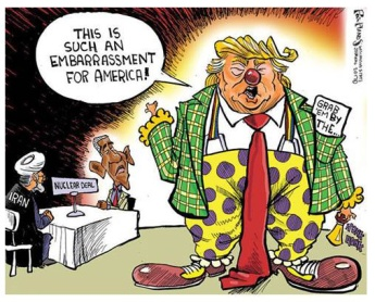 036 - Way to go Donny - clown embarrassment