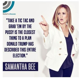 039 - The return of Samantha Bee - closest thing to a plan