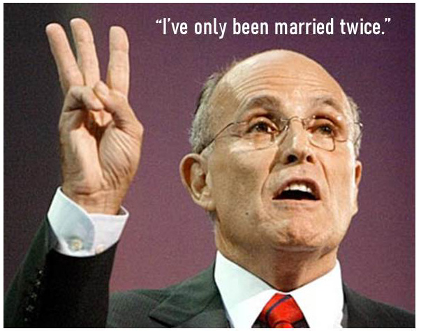 Quip Quip 001 - Guiliani is such a tool - Only been married twice