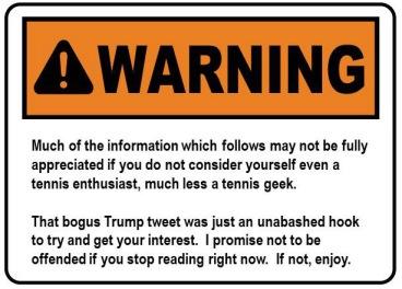 057 - Trumps Tweet about Serena - warning