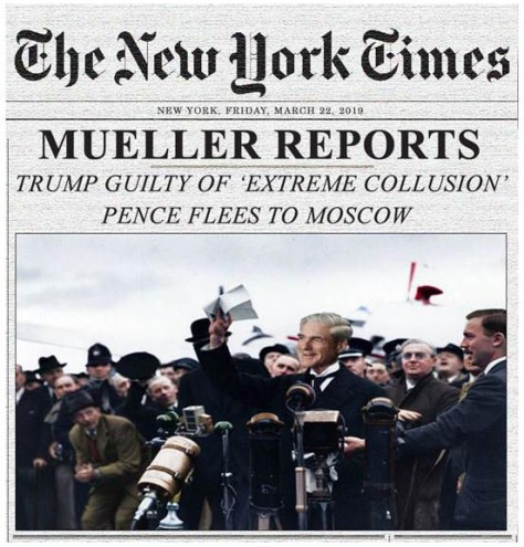 070 - What may happen in Nov 2020 - The Mueller Report