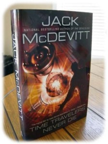 Book Review - Time Travellers Never Die - Book Cover