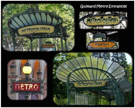 SCOTLAND 2019 - Our Three Week Driving Trip -Guimard Metro Entrances