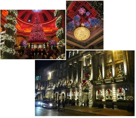 SCOTLAND 2019 - Our Three Week Driving Trip - Part 4 - George St Holiday Lights.jpg