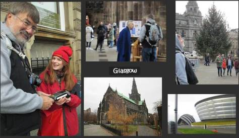 SCOTLAND 2019 - Our Three Week Driving Trip - Part 4 - Glasgow - Red Bus Collage