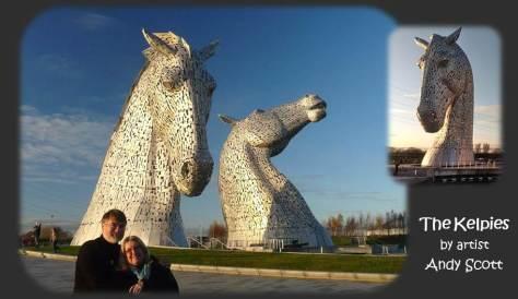 SCOTLAND 2019 - Our Three Week Driving Trip - Part 4 - Kelpies 01