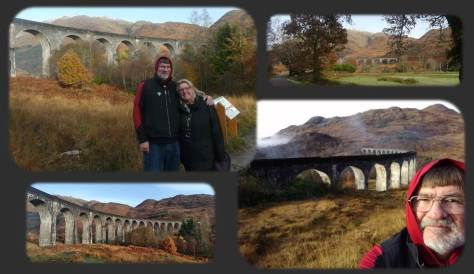 SCOTLAND 2019 - Our Three Week Driving Trip - Part 4 - Viaduct Collage